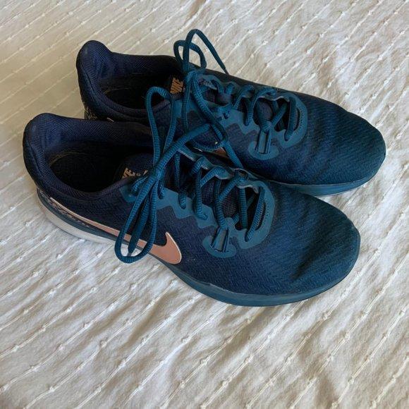 Nike In-Season TR 7 dark blue running shoes sz 9.5
